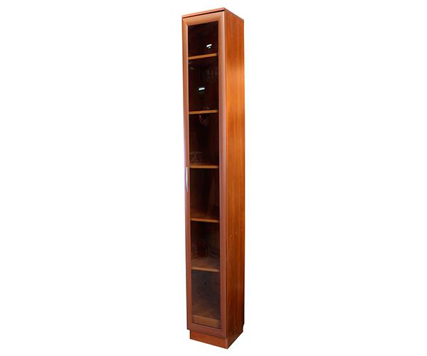 Купить мегаэлатон книжный шкаф верона-1, 30х30х240 см, 1 сек.